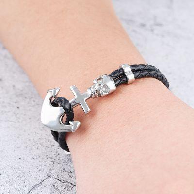 Skull & Anchor Bracelet
