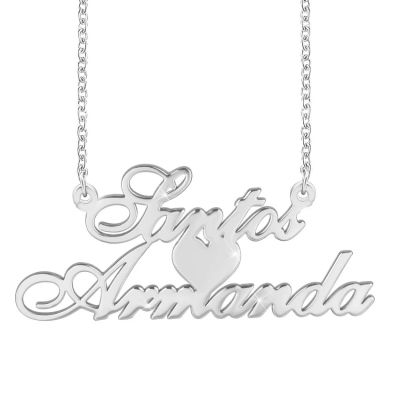 Amarley Personalized Double Name Necklace