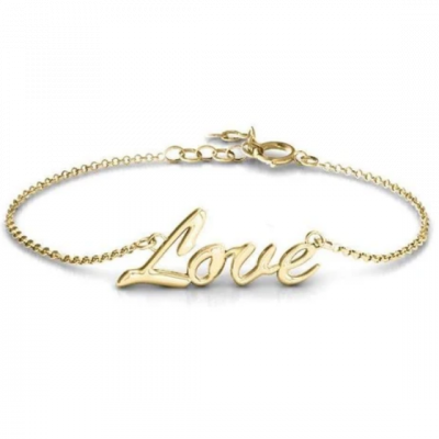 """'Love Spell' - Copper/925 Sterling Silver Personalized Classic Bracelet Length Adjustable 6""""-7.5"""""""