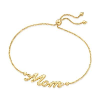 "Personalized Name Bracelet Length Adjustable 6""-7.5"""
