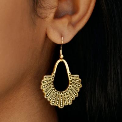 Dissent Collar Chandelier Earrings