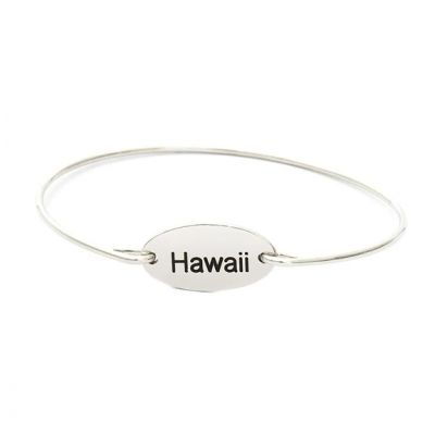 Personalized City Name Bangle