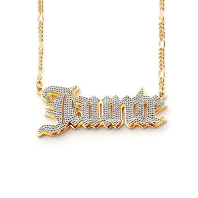 Eaunte - Personalized 3D Name Necklace