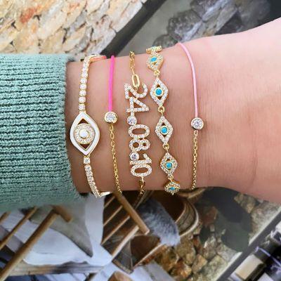 "Copper/925 Sterling Silver Personalized Birthstone Date Bracelet Adjustable 6""-7.5"""