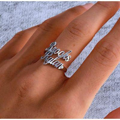 Brooks & Rylan - Custom Double Name Ring
