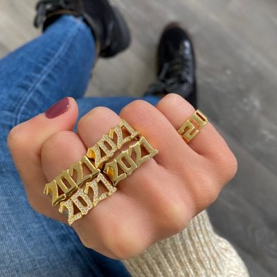 Custom Diamond Year Ring