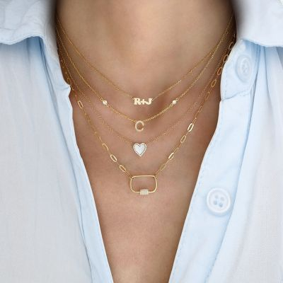 Mini Me - Plus Sign Necklace Adjustable Chain 16