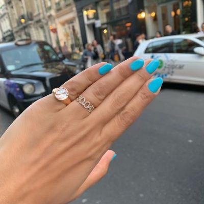 Custom Diamond Date Ring