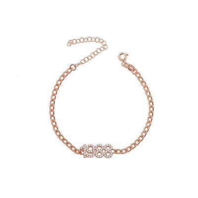 "Personalized Year Link Bracelet Adjustable 6""-7.5"""