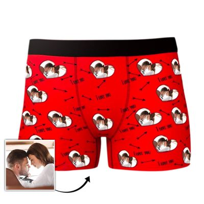 Custom Photo Men's Boxer Underwear