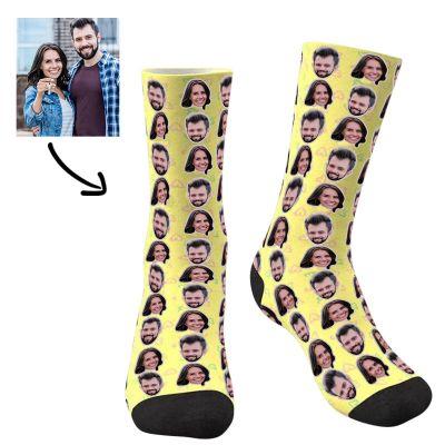 Custom Two Faces Socks